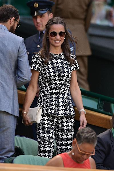 Pippa Middleton will marry financier James Matthews in the Berkshire countryside west of London (AFP Photo/LEON NEAL)