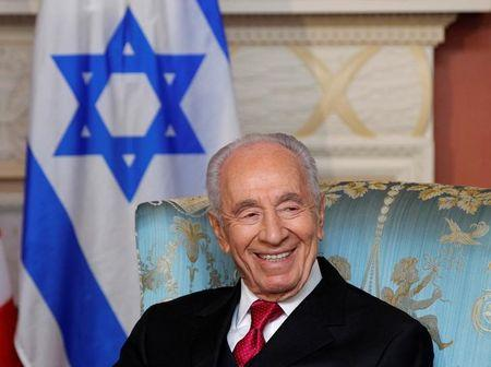 Israel's President Shimon Peres in Ottawa, May 2012.  REUTERS/Blair Gable