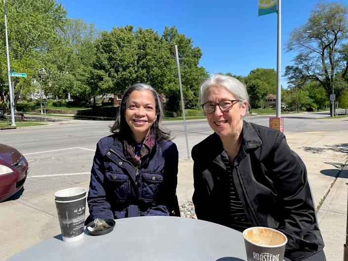 """The opera """"Driving While Black was created by librettist Roberta Gumbel, left, a professor of voice at the University of Kansas, and composer Susan Kander, a Kansas City native."""