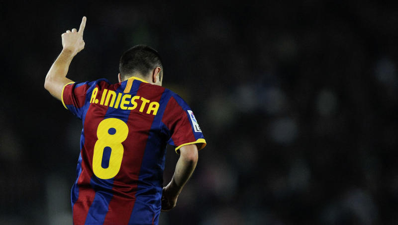 7 of the Best Moments From Andres Iniesta's Incredible Career to Mark His 700th Barcelona Game