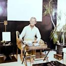 """<p>Baldwin was such a brown devotee that he lacquered the walls of his Manhattan living room with the rich color. <a href=""""https://www.veranda.com/shopping/g34691759/caned-furniture/"""" rel=""""nofollow noopener"""" target=""""_blank"""" data-ylk=""""slk:Caned furniture"""" class=""""link rapid-noclick-resp"""">Caned furniture</a>, potted tree, contemporary art, and brass accents are other hallmarks of Baldwin's style. </p><p><a class=""""link rapid-noclick-resp"""" href=""""https://go.redirectingat.com?id=74968X1596630&url=https%3A%2F%2Fwww.farrow-ball.com%2Fen-us%2Fpaint-colours%2Fmahogany&sref=https%3A%2F%2Fwww.veranda.com%2Fdecorating-ideas%2Fcolor-ideas%2Fg34859300%2Fbrown-paint-colors%2F"""" rel=""""nofollow noopener"""" target=""""_blank"""" data-ylk=""""slk:Get the Look"""">Get the Look</a></p>"""
