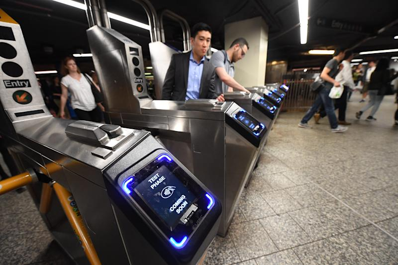 New York City's Metropolitan Transit Authority announced several subway traindelays due to a