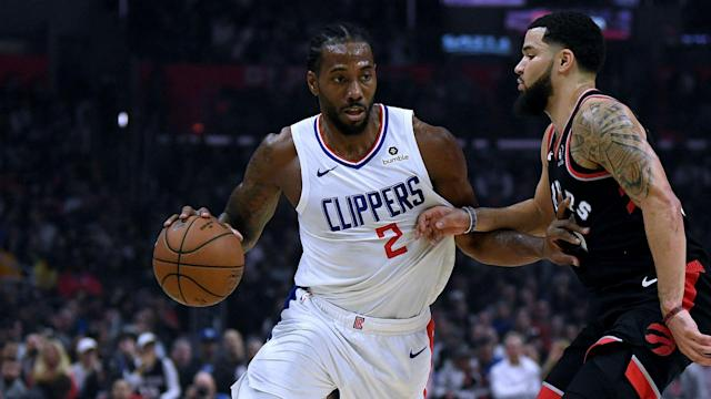 Los Angeles Clippers fans finally got to see Paul George and Kawhi Leonard play together in Wednesday's win over the Boston Celtics.