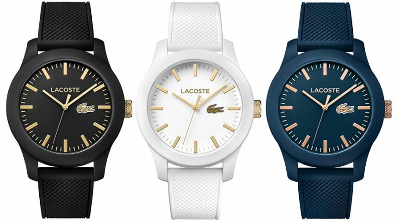 Lacoste 12.12 watches. (Photo: Lacoste)