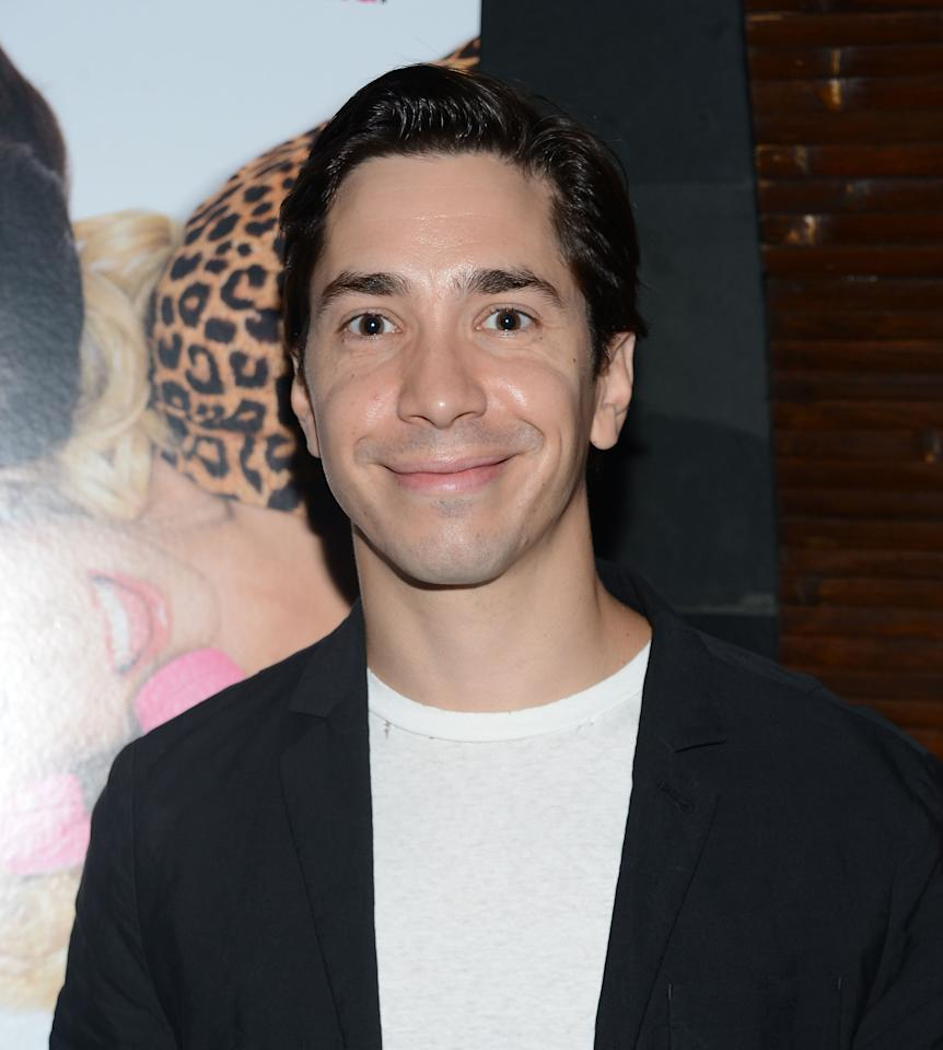 """NEW YORK, NY - AUGUST 21:  Justin Long attends the after party for the """"For A Good Time, Call..."""" premiere at Ajna Bar on August 21, 2012 in New York City.  (Photo by Jason Kempin/Getty Images)"""