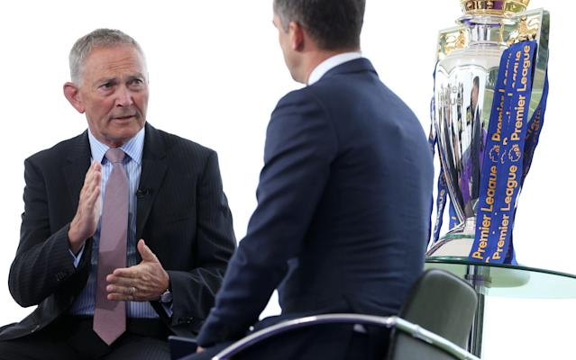 <span>Richard Scudamore (left) wants what's best for the Premier League</span> <span>Credit: REX FEATURES </span>