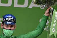 Mark Cavendish extended his points lead