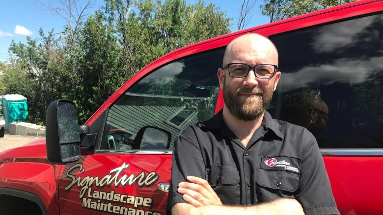 Landscapers 'lucky to break even' with high gas prices