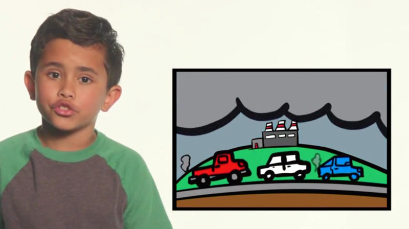 Kids School Donald Trump On Climate Change With Pictures He'll Understand On 'Kimmel'