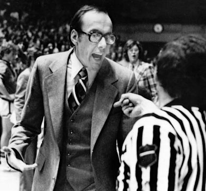 Jim Boeheim was yelling at officials back in 1977 too. (AP file photo)