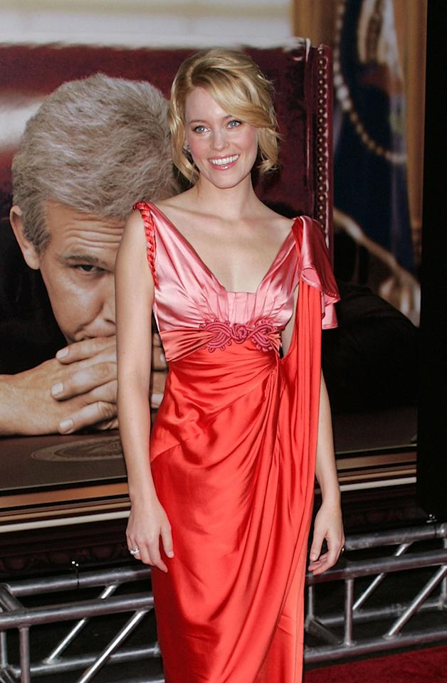 """<a href=""""http://movies.yahoo.com/movie/contributor/1807816351"""">Elizabeth Banks</a> at the New York premiere of <a href=""""http://movies.yahoo.com/movie/1810026489/info"""">W.</a> - 10/14/2008"""