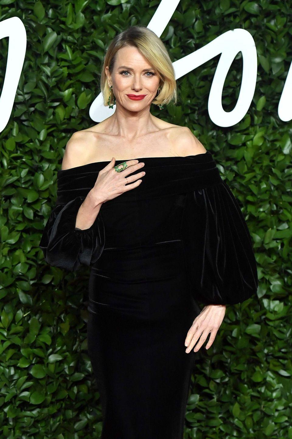 <p>The<em> Mulholland Driv</em>e (2001) and<em> King Kong</em> (2005) actress has started to get into more TV lately. In 2018, she starred as a troubled therapist in Netflix's <em>Gyspy,</em> and in 2019, she played Fox's Gretchen Carlson in the showtime mini-series <em>The Loudest Voice. </em></p>