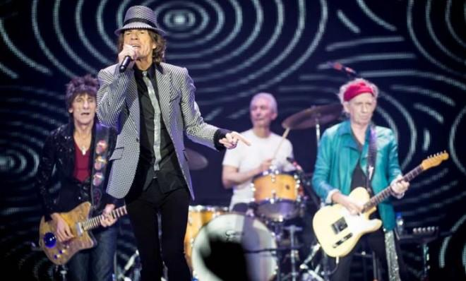 Still got it: The Rolling Stones perform in London on Nov. 25