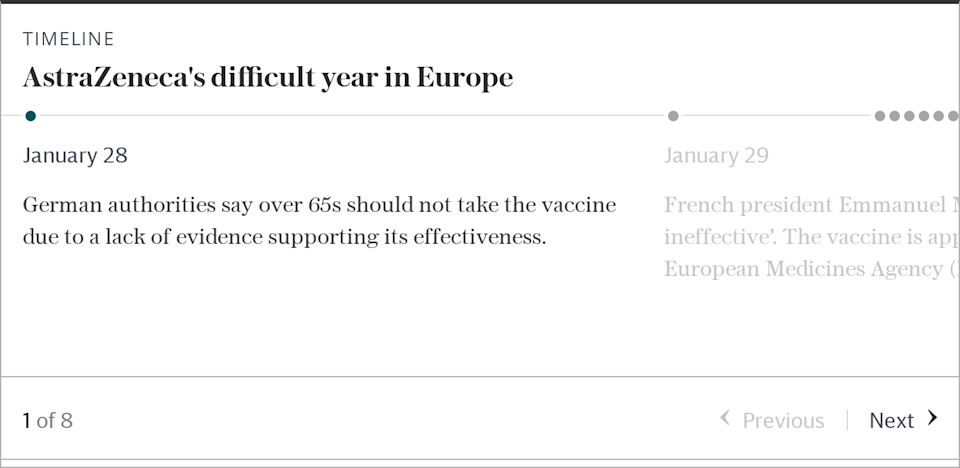 AstraZeneca's difficult year in Europe