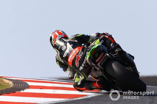 "Jonathan Rea, Kawasaki Racing Team <span class=""copyright"">Gold and Goose / LAT Images</span>"