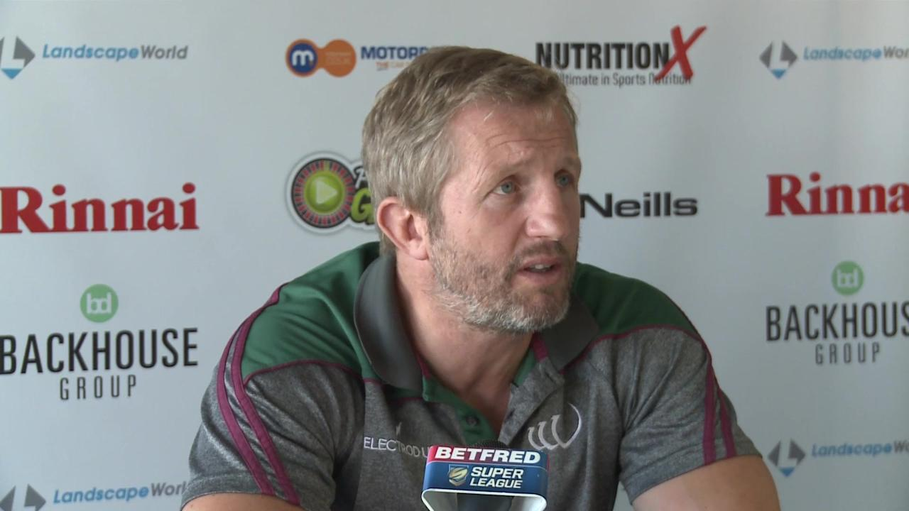 Denis Betts previews Widnes Vikings trip to Warrington Wolves in final round of Betfred Superleague games before the league splits. Both teams will face a relegation battle in the middle 8's