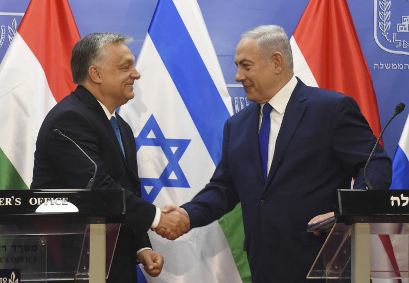 Netanyahu greets Hungary's Orban as 'true friend of Israel'