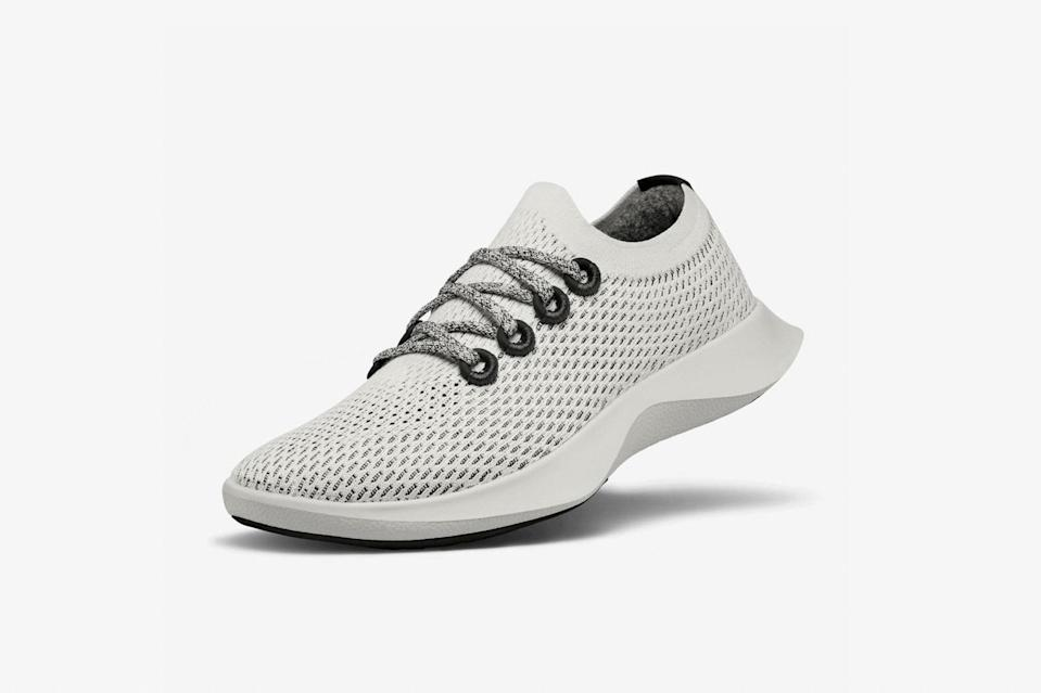 "Allbirds is known for its comfortable walking shoes, which are made from sustainable materials like castor bean and merino wool. Now they also make <a href=""https://www.cntraveler.com/story/allbirds-dasher-running-shoes-launch?mbid=synd_yahoo_rss"" rel=""nofollow noopener"" target=""_blank"" data-ylk=""slk:running shoes,"" class=""link rapid-noclick-resp"">running shoes,</a> which are just as perfect for travelers. They're supportive enough to wear for a workout, but look more casual than most comparable sneakers, meaning you can easily re-wear them throughout a trip, from day to night. $125, Allbirds (Women's sizes). <a href=""https://www.allbirds.com/products/womens-tree-dashers-quartz"" rel=""nofollow noopener"" target=""_blank"" data-ylk=""slk:Get it now!"" class=""link rapid-noclick-resp"">Get it now!</a>"