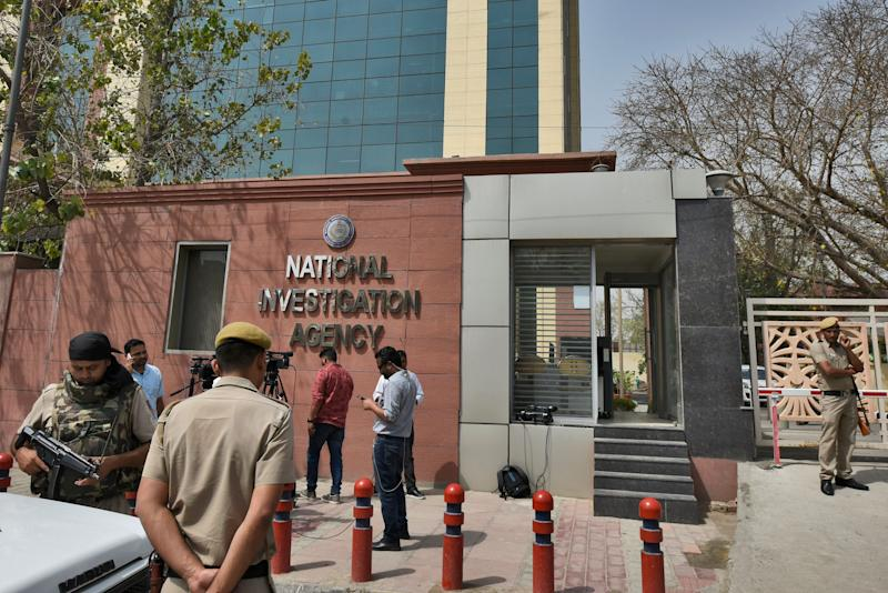 National Investigation Agency (NIA) headquarters in New Delhi. (Photo: Hindustan Times via Getty Images)