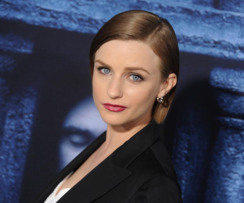 """HOLLYWOOD, CALIFORNIA - APRIL 10: Actress Faye Marsay arrives at the premiere of HBO's """"Game Of Thrones"""" Season 6 at TCL Chinese Theatre on April 10, 2016 in Hollywood, California.  (Photo by Gregg DeGuire/WireImage)"""