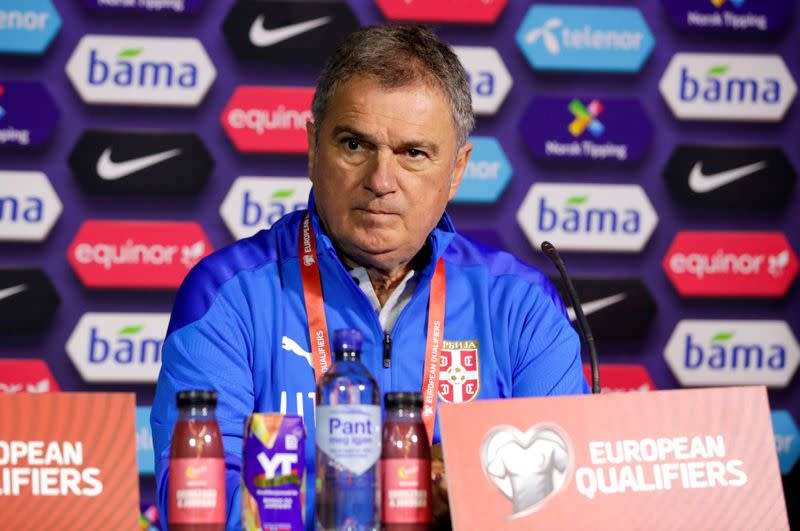 Euro 2020 Qualification Play off - Serbia Press Conference