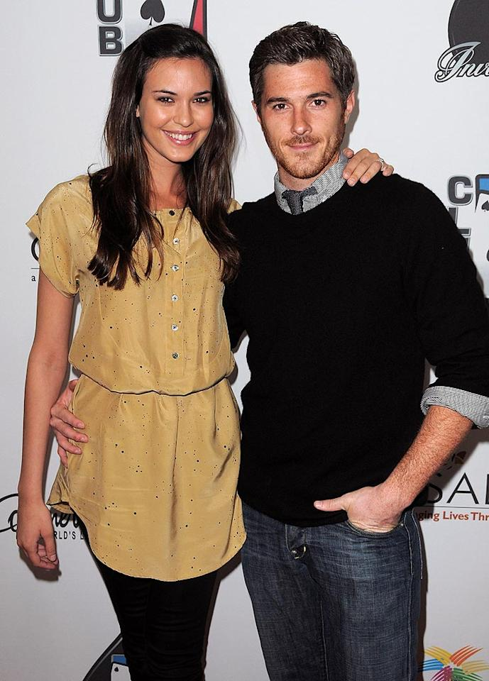 """Dave Annable (""""Brothers & Sisters"""") and his wife-to-be, actress Odette Yustman, certainly make for one super cute couple. Jordan Strauss/<a href=""""http://www.wireimage.com"""" target=""""new"""">WireImage.com</a> - February 20, 2010"""