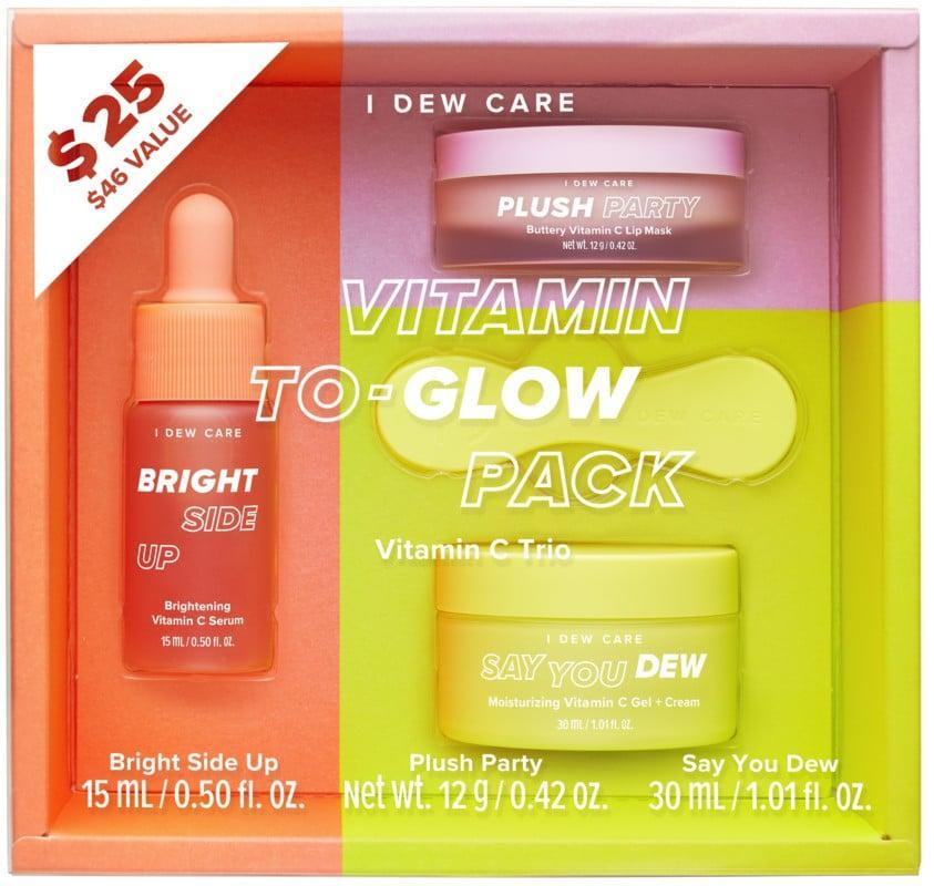 <p>Nourish their skin with this <span>I Dew Care Vitamin To-Glow Pack</span> ($25).</p>