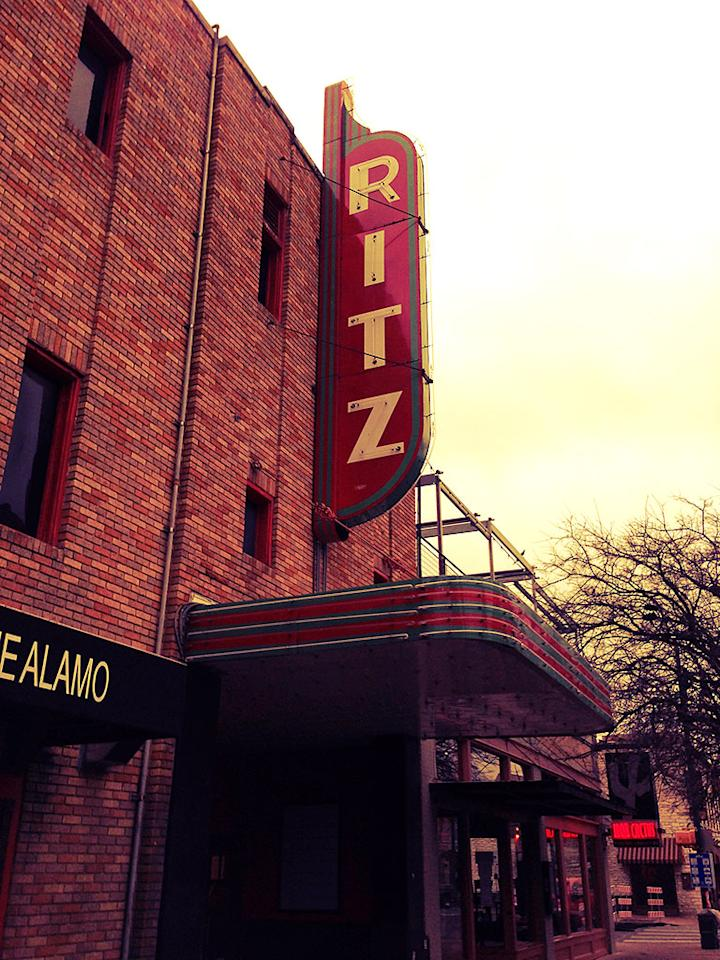At the Ritz for a *shudder* 8am screening.
