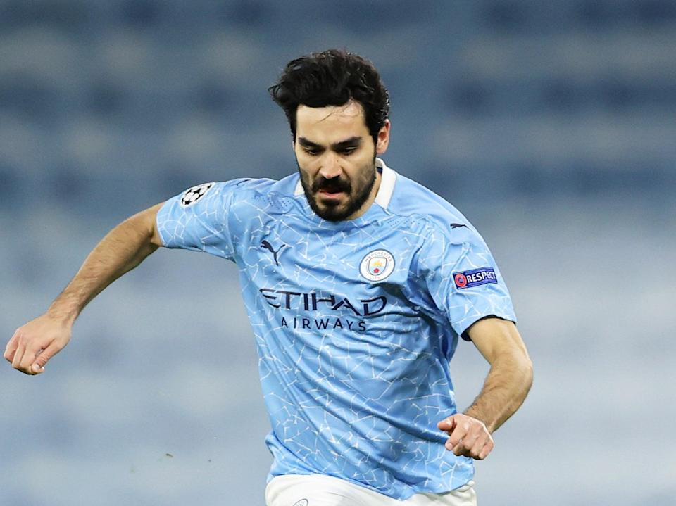 Ilkay Gundogan in action for Manchester City (Getty Images)