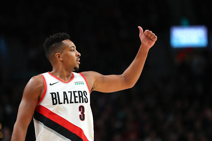 Buy into Dame Lillard's running mate. (Photo by Abbie Parr/Getty Images)