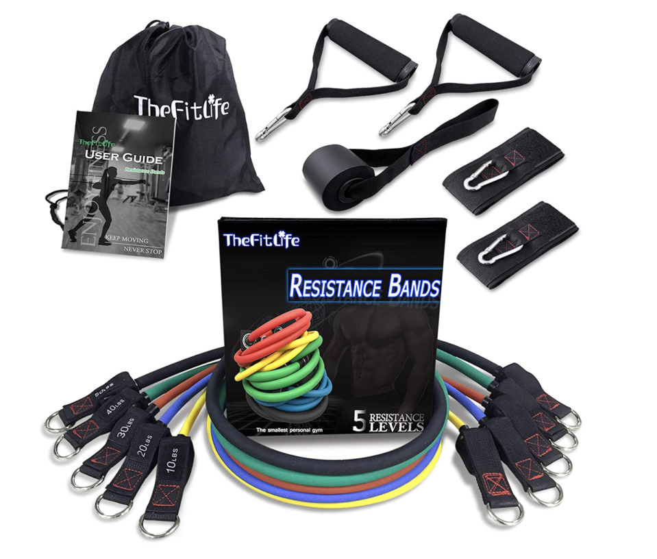 TheFitLife Exercise and Resistance Bands Set - Amazon, $48 (originally $59)
