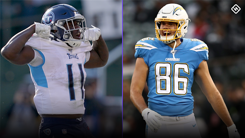 Fantasy Football Stock Watch: A.J. Brown, Hunter Henry among those on start 'em, sit 'em bubble for Week 16