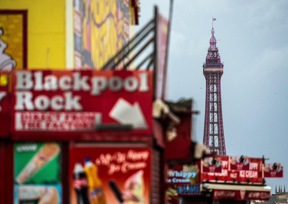 Properties in Blackpool are extremely likely to increase in value, according to experts. Photo: Bruce Adams/Associated Newspapers/REX/Shutterstock
