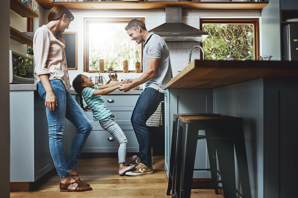 Throw a kitchen disco. (Getty Images)