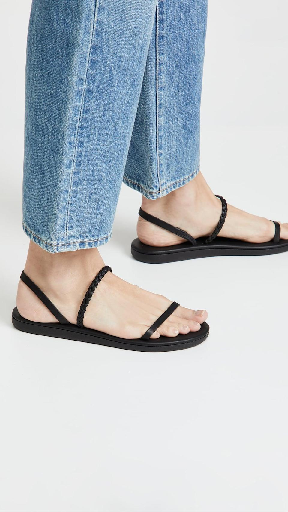 <p>You'll never want to take off these <span>Ancient Greek Sandals Pigi Sandals</span> ($175).</p>