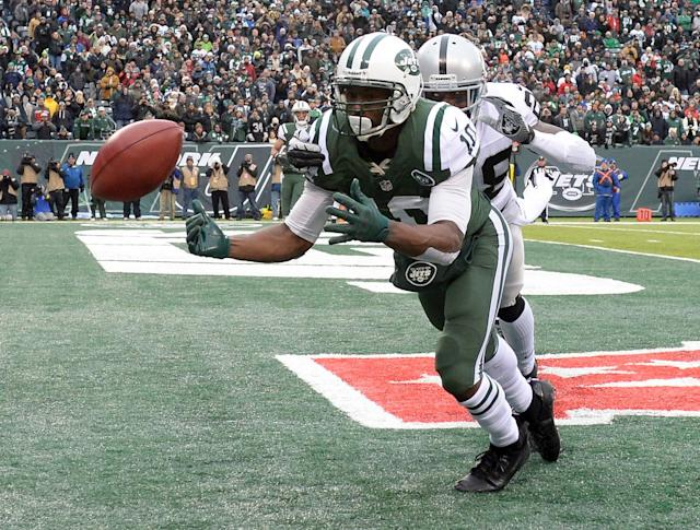 Jets continue to clear out some veterans, cut receiver Santonio Holmes