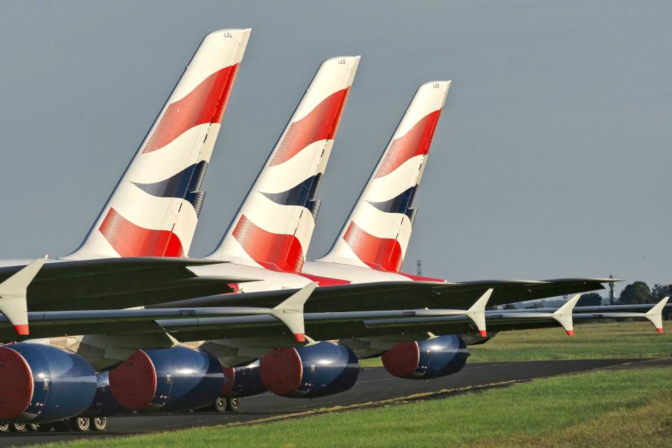 Some 12,000 British Airways jobs are at risk. Credit: Getty.