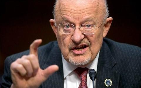 <span>Mr Clapper believes Trump is 'looking for a way out'</span>