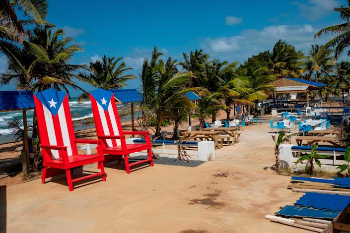Puerto Rico is opening to tourism this week, but will require travelers provide negative coronavirus test results upon arrival at the airport.
