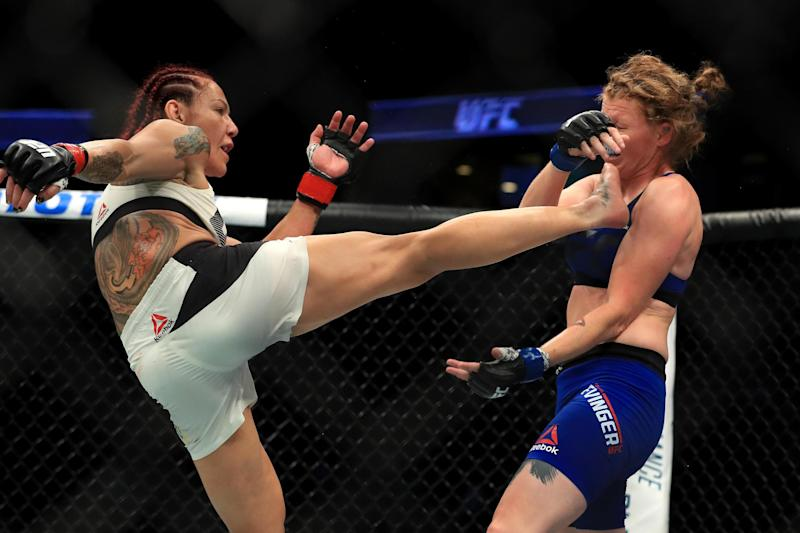 Cyborg aiming for a fourth world titles in four different promotions: Getty Images