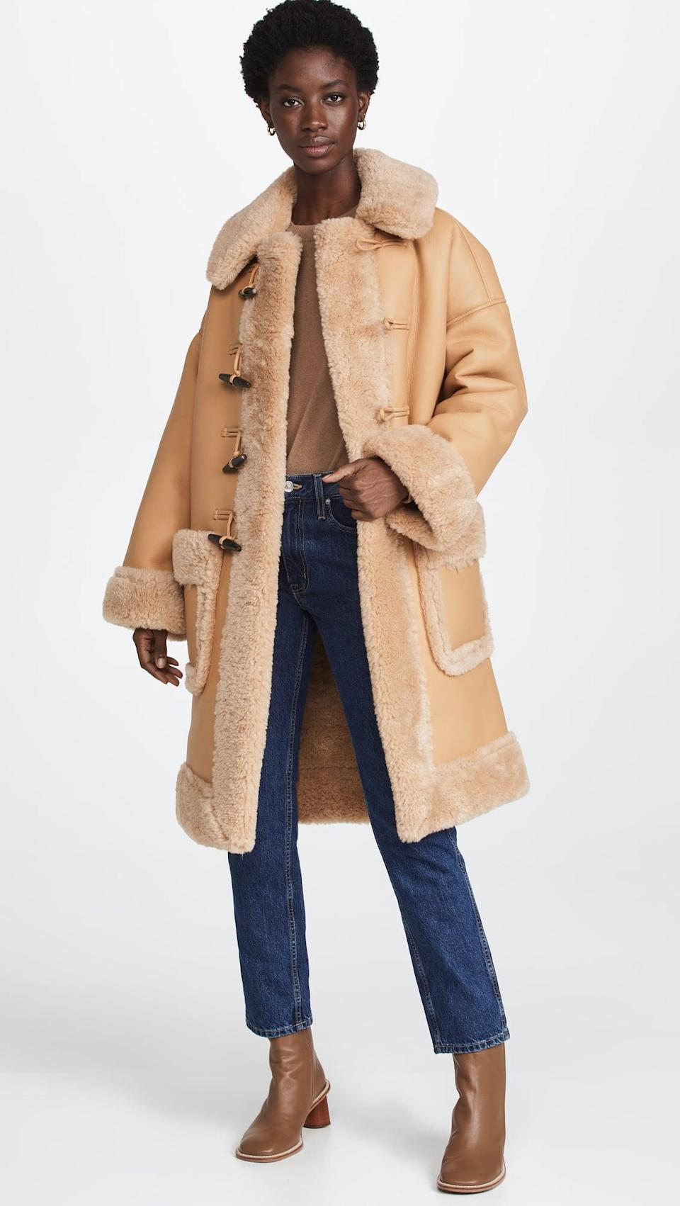 <p>This <span>A.L.C. Brunswick Coat</span> ($695) is luxe and so warm. Bundle up in it all winter long.</p>