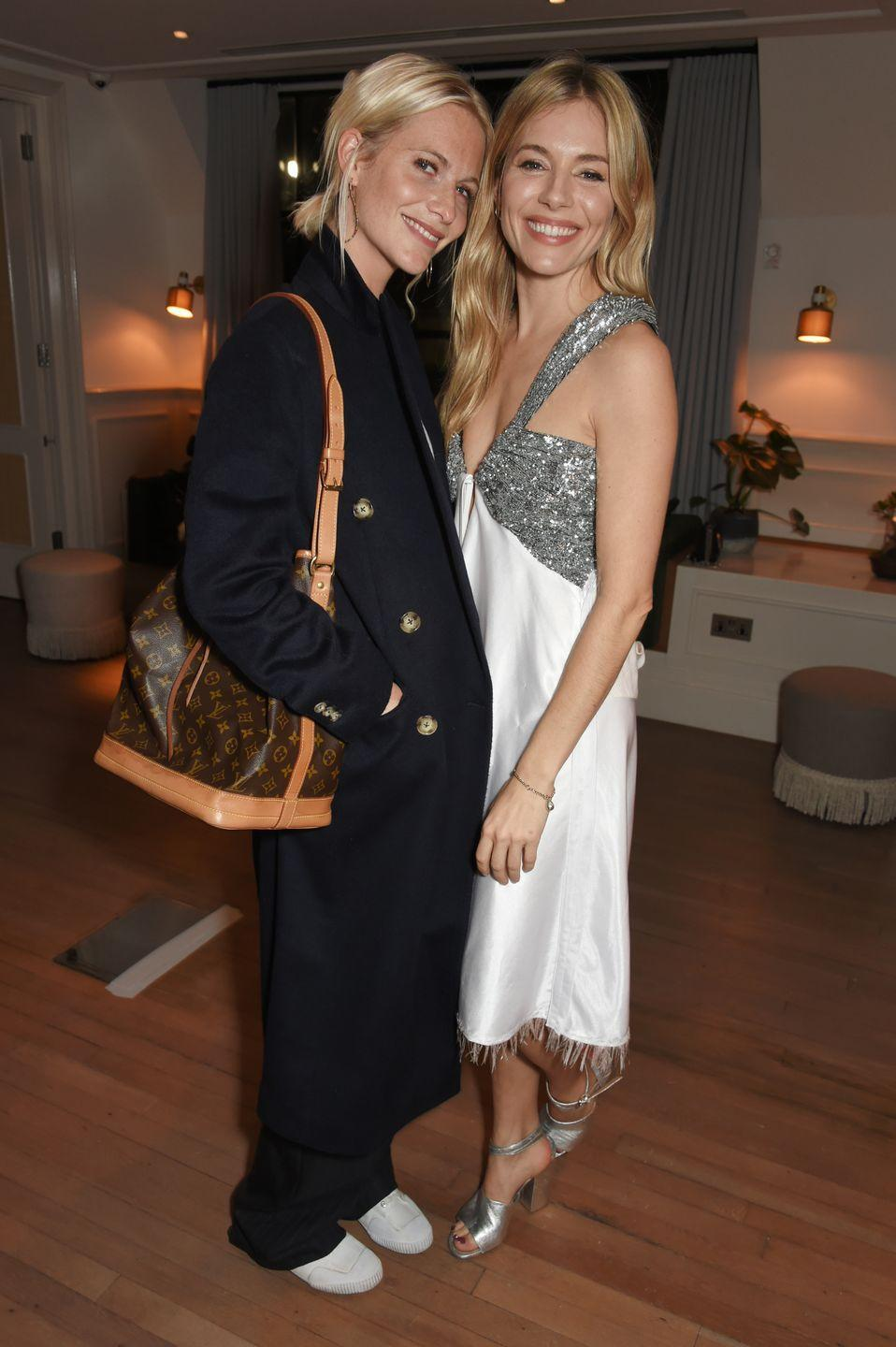 """<p>Delevingne moved to New York in 2008 from London to focus on her modeling and acting career. When she first moved, she was living with Miller who <a href=""""http://www.harpersbazaar.com/celebrity/party-pictures/a480/poppy-delevingne-fashion-0310/"""" rel=""""nofollow noopener"""" target=""""_blank"""" data-ylk=""""slk:said"""" class=""""link rapid-noclick-resp"""">said</a>, """"She doesn't take herself too seriously, which isn't as common as you'd think.""""</p>"""