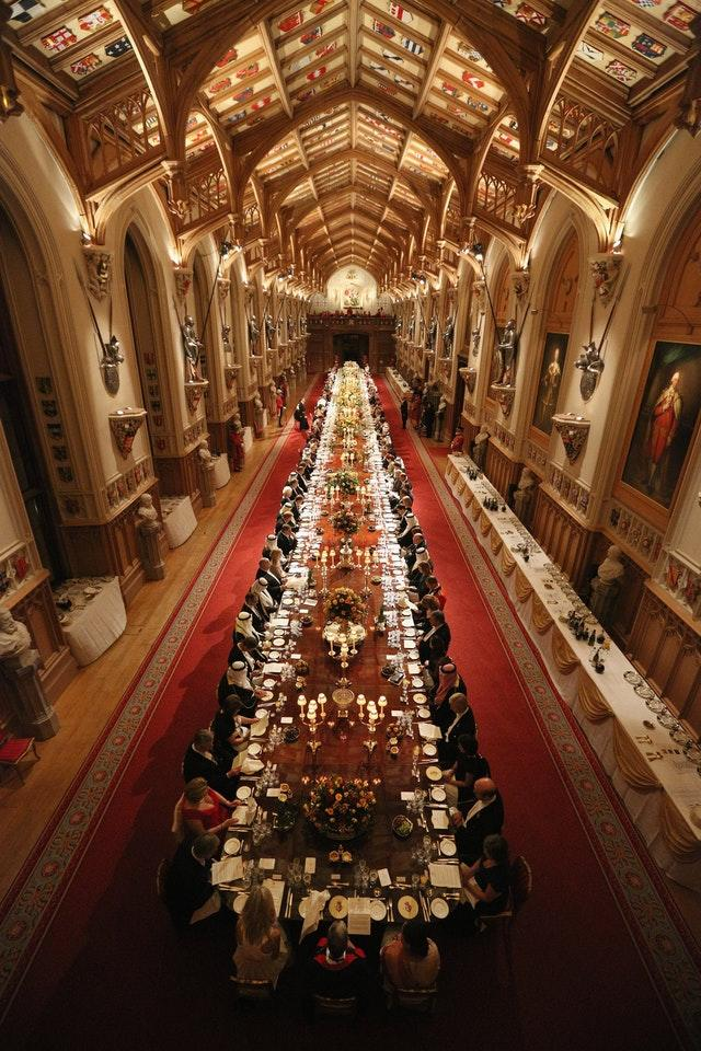 Windsor Castle banquet