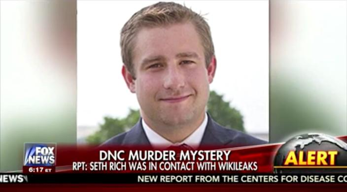 Fox News coverage of the Seth Rich murder.