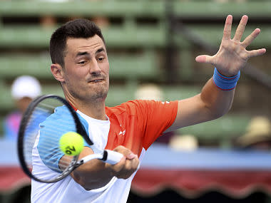 Kooyong Classic: Bernard Tomic beats Jack Sock in three sets to get season off to winning start, faces Nick Kyrgios in second round