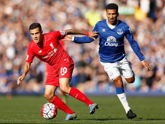 Coutinho has never been on the losing team in a Merseyside derby: Getty