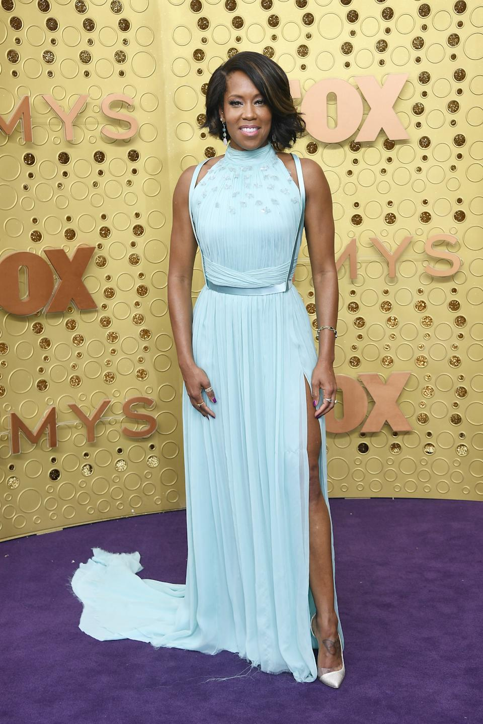 """<h1 class=""""title"""">Regina King in custom Jason Wu Collection, Christian Louboutin shoes, and Irene Neuwirth jewelry</h1><cite class=""""credit"""">Photo: Getty Images</cite>"""