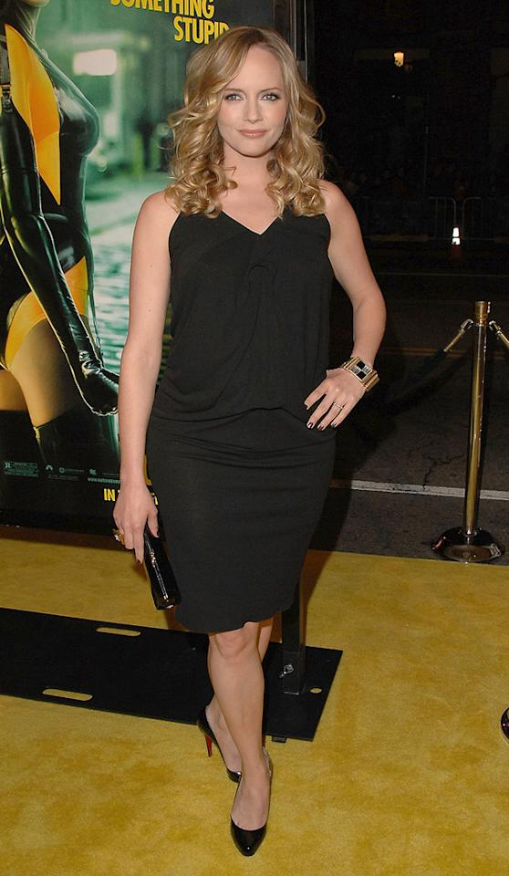 """<a href=""""http://movies.yahoo.com/movie/contributor/1800019209"""">Marley Shelton</a> at the Los Angeles premiere of <a href=""""http://movies.yahoo.com/movie/1808406490/info"""">Watchmen</a> - 03/02/2009"""