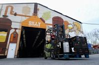 The Silly brewery produces 2.5 million litres per year