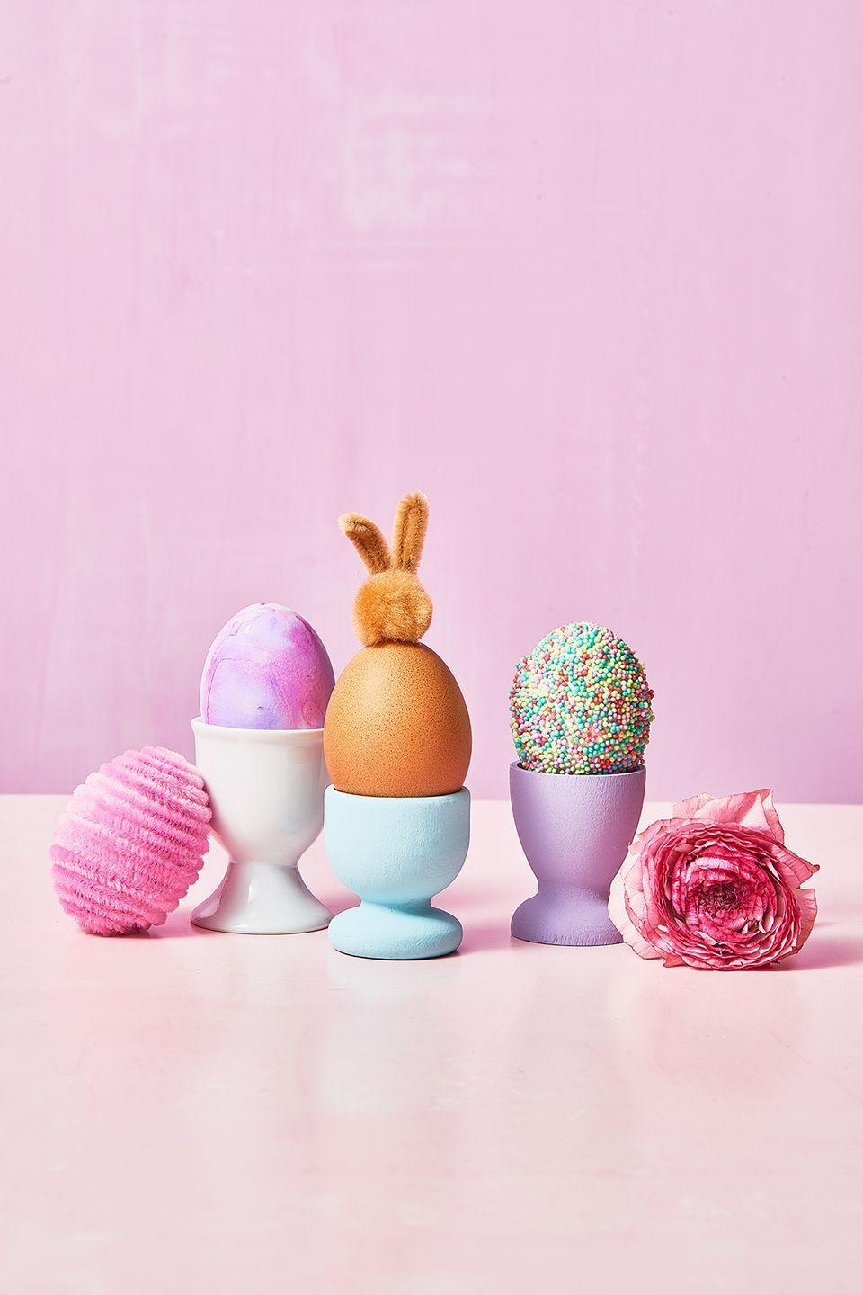 """<p>From colored eggs to chocolate eggs to egg hunts, nothing says """"Easter"""" like the incredible edible. Yet our modern take on collecting, dyeing, and decorating eggs comes from a tradition dating back thousands of years, long before the time of Jesus Christ.</p><p>Many ancient cultures, including the Greeks and Egyptians, saw eggs as a sign of fertility and new life; they used eggs in religious rituals and hung them in pagan temples for mystical purposes, says Martha Zimmerman in her book, <a href=""""http://www.amazon.com/gp/product/1568659466/ref=as_li_ss_tl?ie=UTF8&camp=1789&creative=390957&creativeASIN=1568659466&linkCode=as2&tag=syn-yahoo-20&ascsubtag=%5Bartid%7C10055.g.191%5Bsrc%7Cyahoo-us"""" rel=""""nofollow noopener"""" target=""""_blank"""" data-ylk=""""slk:Celebrating the Christian Year"""" class=""""link rapid-noclick-resp""""><em>Celebrating the Christian Year</em></a>.<br><br>Later, as Christian missionaries observed community members hunting for eggs in spring, they began using the food as a tool to describe Christ's new birth in resurrection. """"They would dye the eggs based on what colors meant to the church: yellow for resurrection, blue for love, red for the blood of Christ. Or, they would paint various scenes from the Bible on eggs and hide them; the child who found the egg would come back and tell the story painted on that egg,"""" says Collins. <br><br><strong>RELATED:</strong> <a href=""""https://www.goodhousekeeping.com/holidays/easter-ideas/g419/easter-egg-decorating-ideas/"""" rel=""""nofollow noopener"""" target=""""_blank"""" data-ylk=""""slk:The Best Egg Decorating Ideas"""" class=""""link rapid-noclick-resp"""">The Best Egg Decorating Ideas</a></p>"""